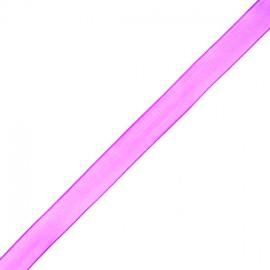 Organza ribbon 10 mm - purple
