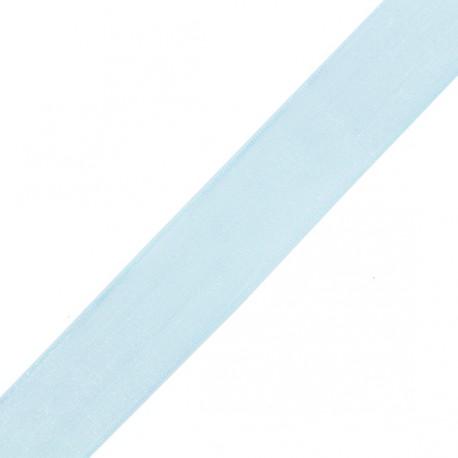 mousseline  bleue 15 mm