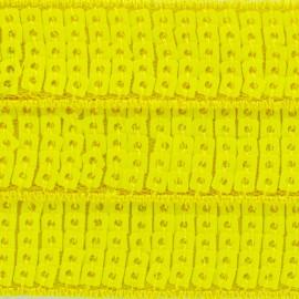 Galon paillettes Jaune fluo x 50cm
