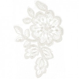 Écusson à coudre dentelle Ciara - blanc