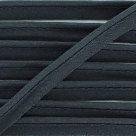 Passepoil tout textile gris