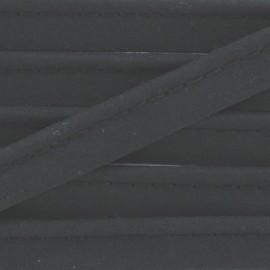 Passepoil tout textile noir