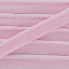 Passepoil tout textile rose