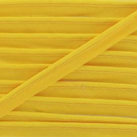 Passepoil tout textile jaune