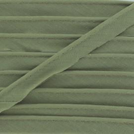 Passepoil tout textile kaki