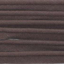 Passepoil tout textile chocolat