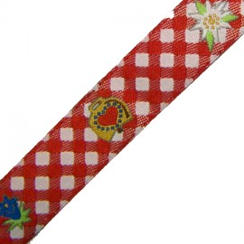 Edelweiss Ribbon - red