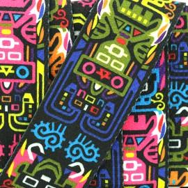 50 mm strap - multi Maya Moderne x 50cm