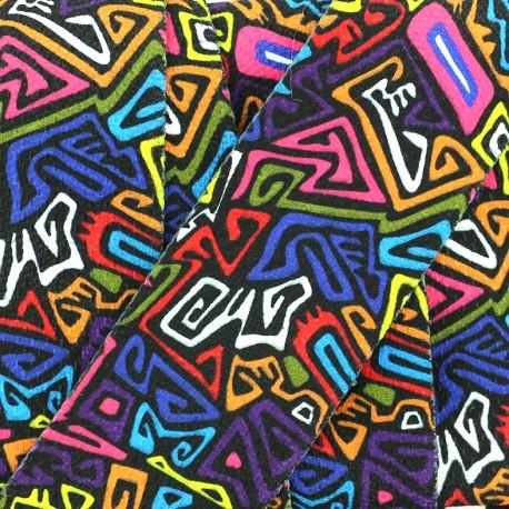 50 mm strap - multi Color Fiction x 50cm