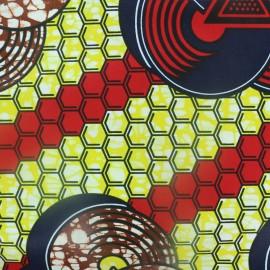Tissu Wax - Bodé Lao x 10cm