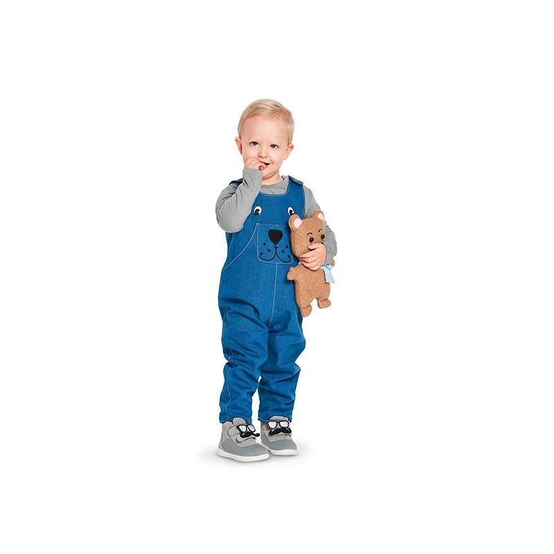 0bb10cd4caa Kids jumpsuit and dress sewing pattern - Burda N°9330