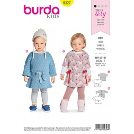 Baby's dress sewing pattern - Burda N°9327