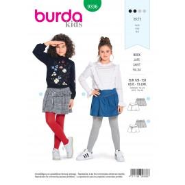 Patron jupe fille Burda N°9336