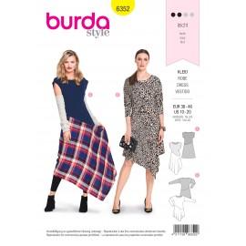 Patron robe femme Burda N°6352