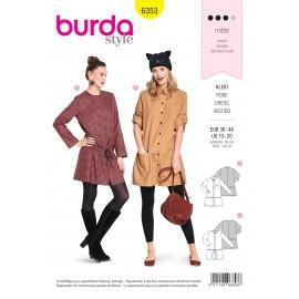 Patron robe femme Burda N°6353