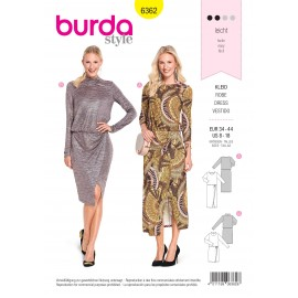 Patron robe femme Burda N°6362