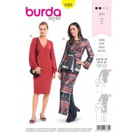 Patron robe femme Burda N°6365