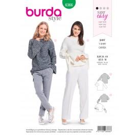 Top sewing pattern for women - Burda N°6366