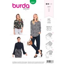 Patron blouse femme Burda N°6367