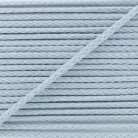 Cordon coton grand teint gris