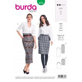 Skirt Sewing Pattern for Women - Burda N°6370