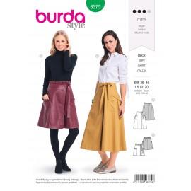 Patron Jupe Femme Burda N°6375