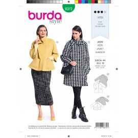 Jacket Sewing Pattern for Women - Burda N°6372