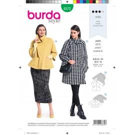 Jacket Sewing Pattern for Women - Burda N°6372