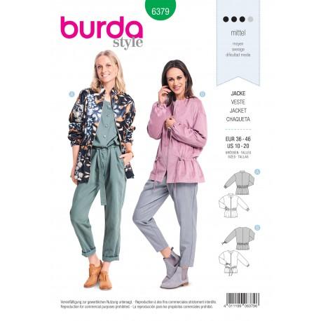 Jacket Sewing Pattern for Women - Burda N°6379