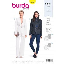 Jacket Sewing Pattern for Women - Burda N°6376