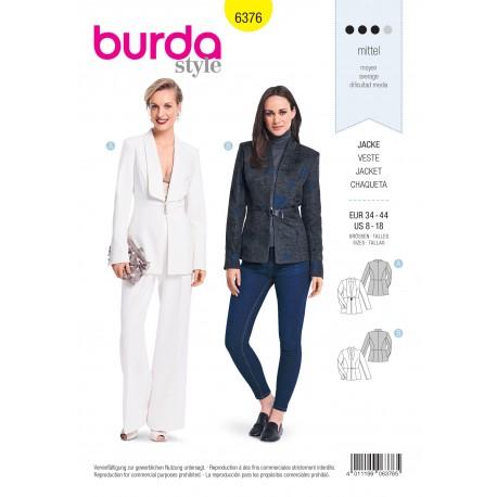 Patron Veste Femme Burda N°6376
