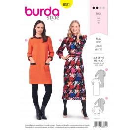 Patron Robe Femme Burda N°6381