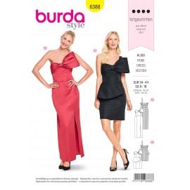 Patron Robe Femme Burda N°6388