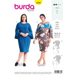 Dress sewing pattern for women - Burda N°6388