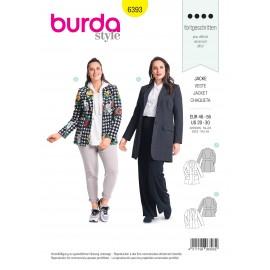 Patron Veste Femme Burda N°6393