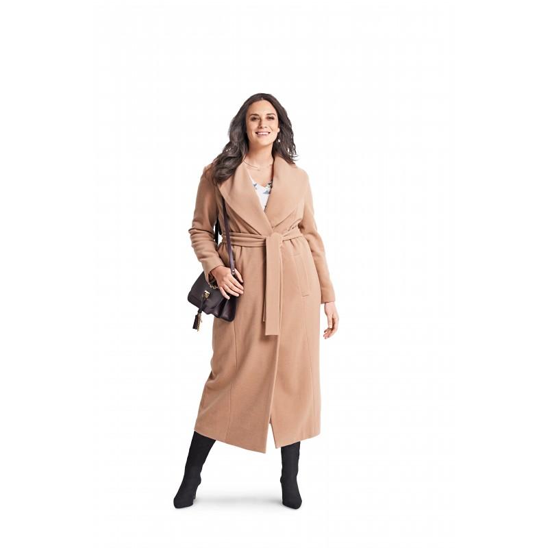 Coat Sewing Pattern For Women Plus Size Burda N6394