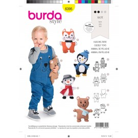 Stuffed Animal sewing pattern - Burda N°6395