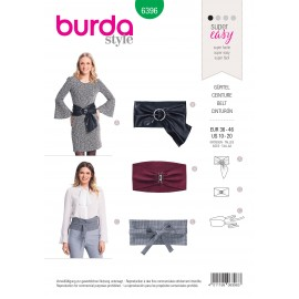 Belt sewing pattern for women - Burda N°6396