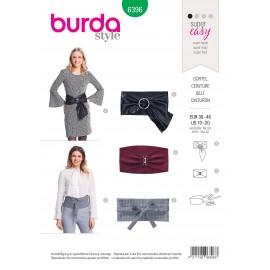 Belt sewing pattern for women - Burda N°6396
