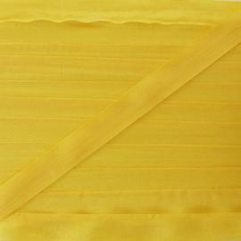 Ruban de soie 10 mm soleil