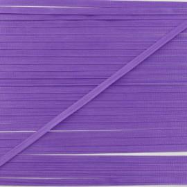 Ruban de soie violet 4 mm