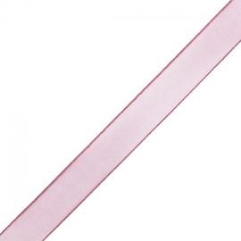 Organza ribbon 10 mm - old pink