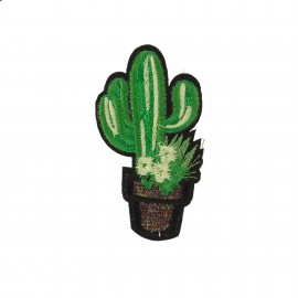 Thermocollant Cactus Lurex A  - vert