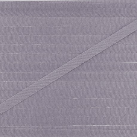 Ruban aspect soie 4 mm - orage