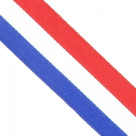 Grosgrain aspect Ribbon - Tricolor