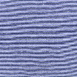Jersey Fabric - blue fine stripes x 10cm