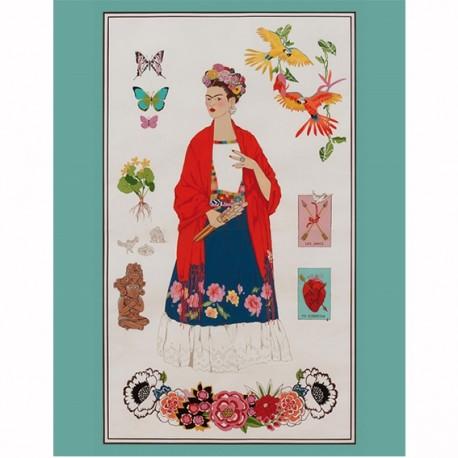 Alexander Henry cotton fabric - L'Artista con Alma