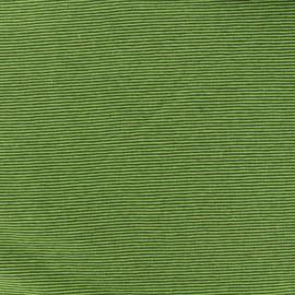 Tissu Jersey Fines Rayures - vert/fert foncé  x 10cm