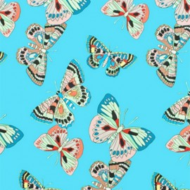 Alexander Henry cotton fabric - blue Marilia x 10cm