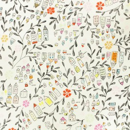 Alexander Henry fabric - ecru My Way Home x 10cm